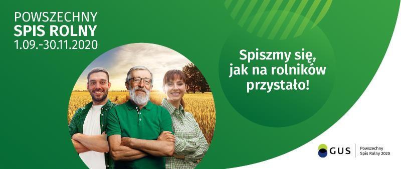Baner Powszechny Spis Rolny